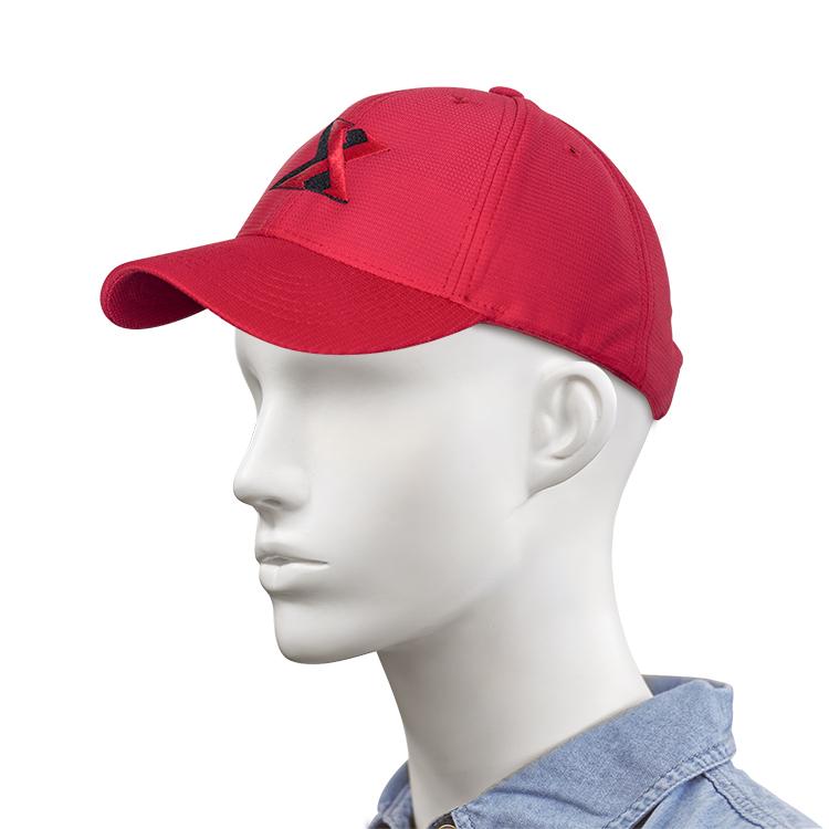 827bf2c6ac773 Gorra roja bordada con logo XTASEA